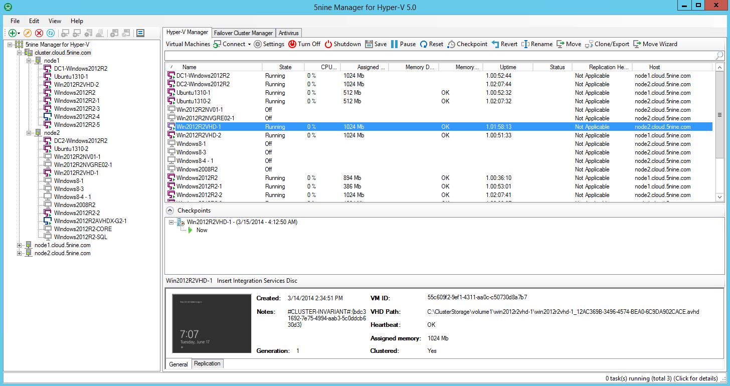 Станции администратора, как в составе Windows Server 2008 R2 SP1, Window
