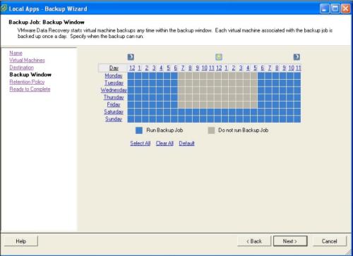 vmware data recovery 1.1