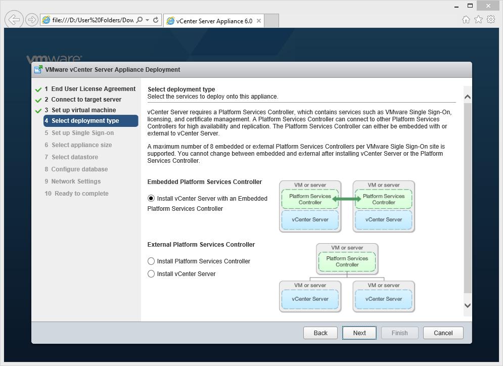 Vmware Vcenter Server Appliance 6 скачать - картинка 2