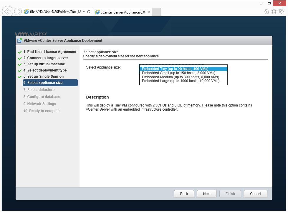 Vmware Vcenter Server Appliance 6 скачать