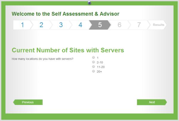 VMware - Virtualization Advisor Tool.